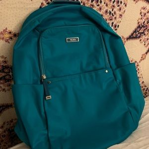 Tumi Teal Travel Backpack